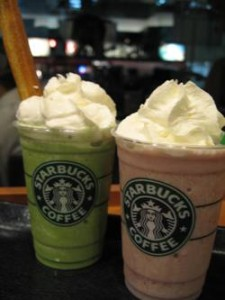 STARBUCKS COFFEEのメニュー
