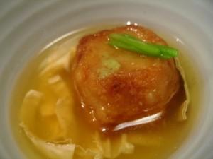 湯葉と豆腐の店 梅の花のご飯