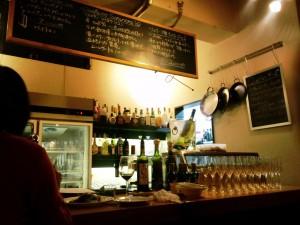 bar unicoの店内